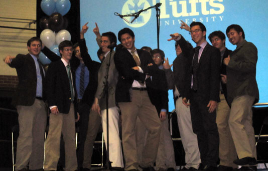 Tufts' Beelzebubs a cappella group