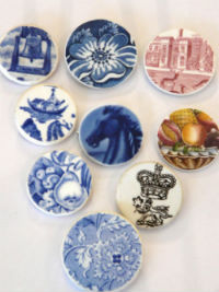 Royall House brooches