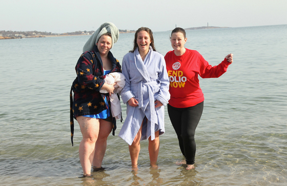 Medford Rotarians take the plunge