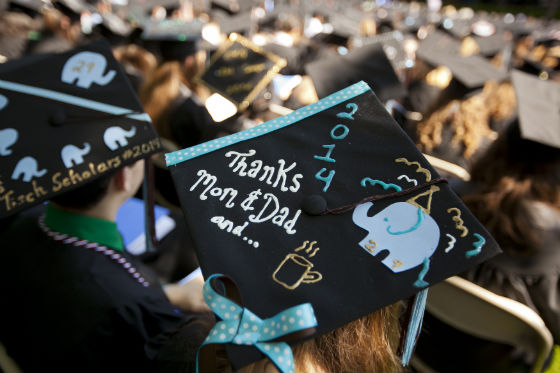 Tufts University commencement 2014