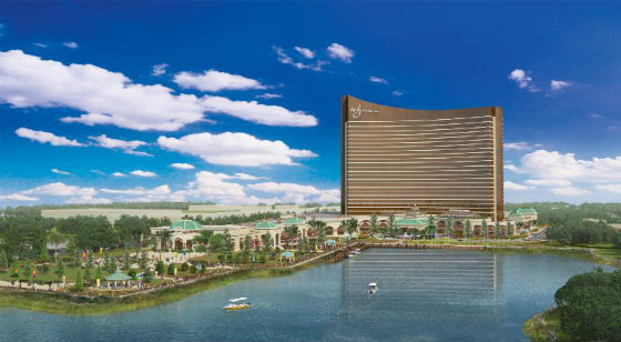 Wynn Resort updated rendering