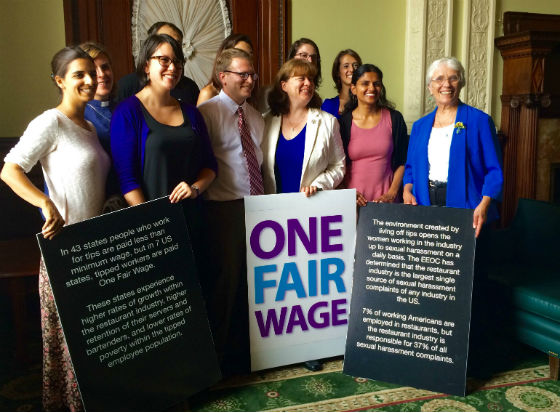 Sen. Jehlen and tipped workers wages
